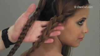 תסרוקות לבית ספר-מגוון שיטות לקליעת צמות לילדות HAIR STYLING