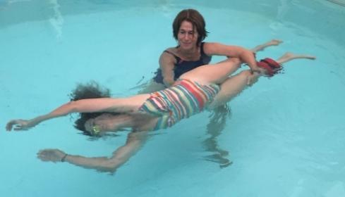 לימור שאו שורש  - טיפולי הידרותרפיה במים לנשים בדרום
