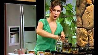 פרפה קוקוס תפוח עם קרמבל אגוזים - ליה שומרון