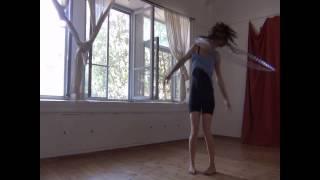 אימון בוקר/ ריקוד עם חישוק