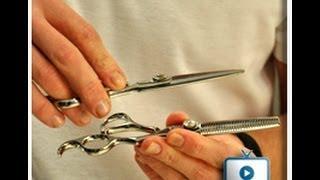 תספורת גברים באמצעות שני זוגות מספריים משולבות HAIR STYLING