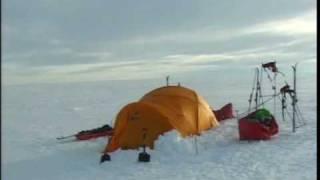 דניאל קרן במסעו לחציית כיפת הקרח של גרנלנד - חלק 3