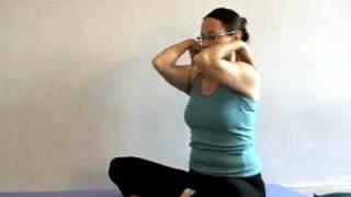 יוגה טיפולית - תרגילי חימום מפרקים חלק 3 - גוף עליון
