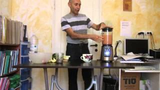 מרק ירקות טבעוני חי (רו פוד - Raw Food)