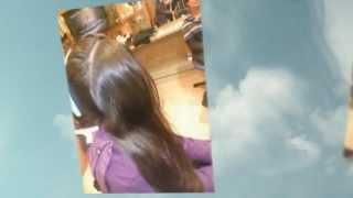 עיצוב צמות לילדות עם תוספות שיער צבעוניות - רמי מזרחי