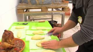 לחם כפרי בטאבון של אל מאגו