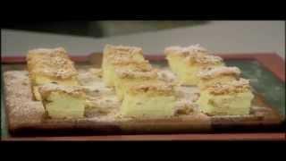עוגת גבינה אפויה וקראמבלס טחינה, מתוך 'מיקי שמו עושה בית ספר' עונה 2: פרק 12