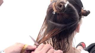 הייר מנטור עמיר מזרחי בגזירת שיער מתולתל