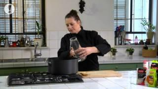 מתכון למרק ירקות ושעועית עם לקט איטלקי
