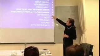 הרצאה על עייפות כרונית ופסיכולוגיה-מכללת רידמן חלק  2