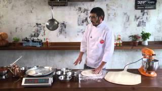 איך מכינים פיצה טבעונית