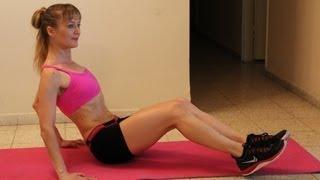 כשאין זמן! אימון 4 דקות לשרירי הבטן מהסרטים - Tabata