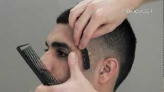עיצוב שיער  גברים איך לעבוד עם מכונת התספורת HAIRSTYLE EDUCATION