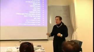 הרצאה על עייפות כרונית ופסיכולוגיה-מכללת רידמן חלק  1