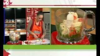 חזה עוף טחון דק ברוטב עגבניות עם פסטה קוסקוס - מטרנה