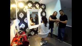 תסרוקות כלה איך לעשות גלים בשיער דניאל בן אלישע HD