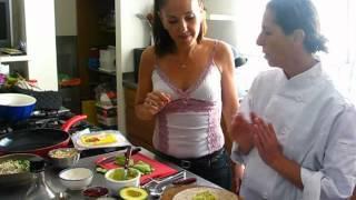 אוכלים בריא בבית הספר - טורטיה עם ממרח טעייים