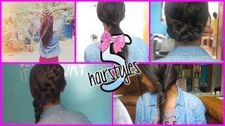 ☂ 5 תסרוקות קלות לסתיו - Fall Hairstyles ☂