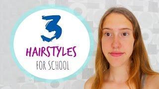 3 תסרוקות קלות ומהירות לבית הספר