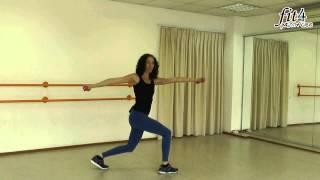 אימון -Fit4 Dumbbell - ירכיים, זרועות ובטן עם משקולת