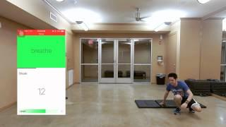 7 דקות של אימון כושר