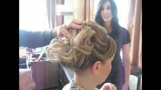תסרוקת כלה - דקל עוז מעצב שיער - אורית 2