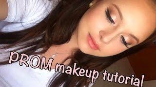 איפור לנשף בגווני אפרסק | Peachy PROM Makeup Look