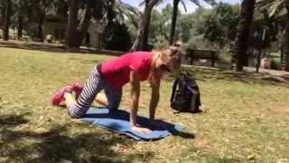 תרגילים קלים ומעולים לחיזוק הבטן וכתפיים